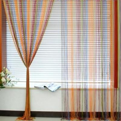 Large sized Multi Coloured String Curtains are a fashionable and innovative  method of enhancing windows and are gradually replacing old fashioned,