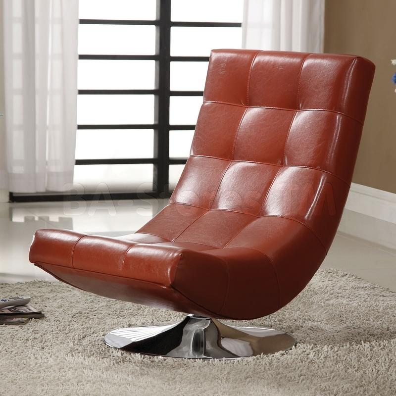 Armchair Comfy Swivel Chair Living Room Contemporary Chairs Cool