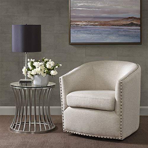 Tyler Swivel Chair Natural Multi See Below