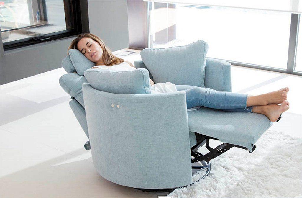 Fama Moonrise Swivel Recliner Chair