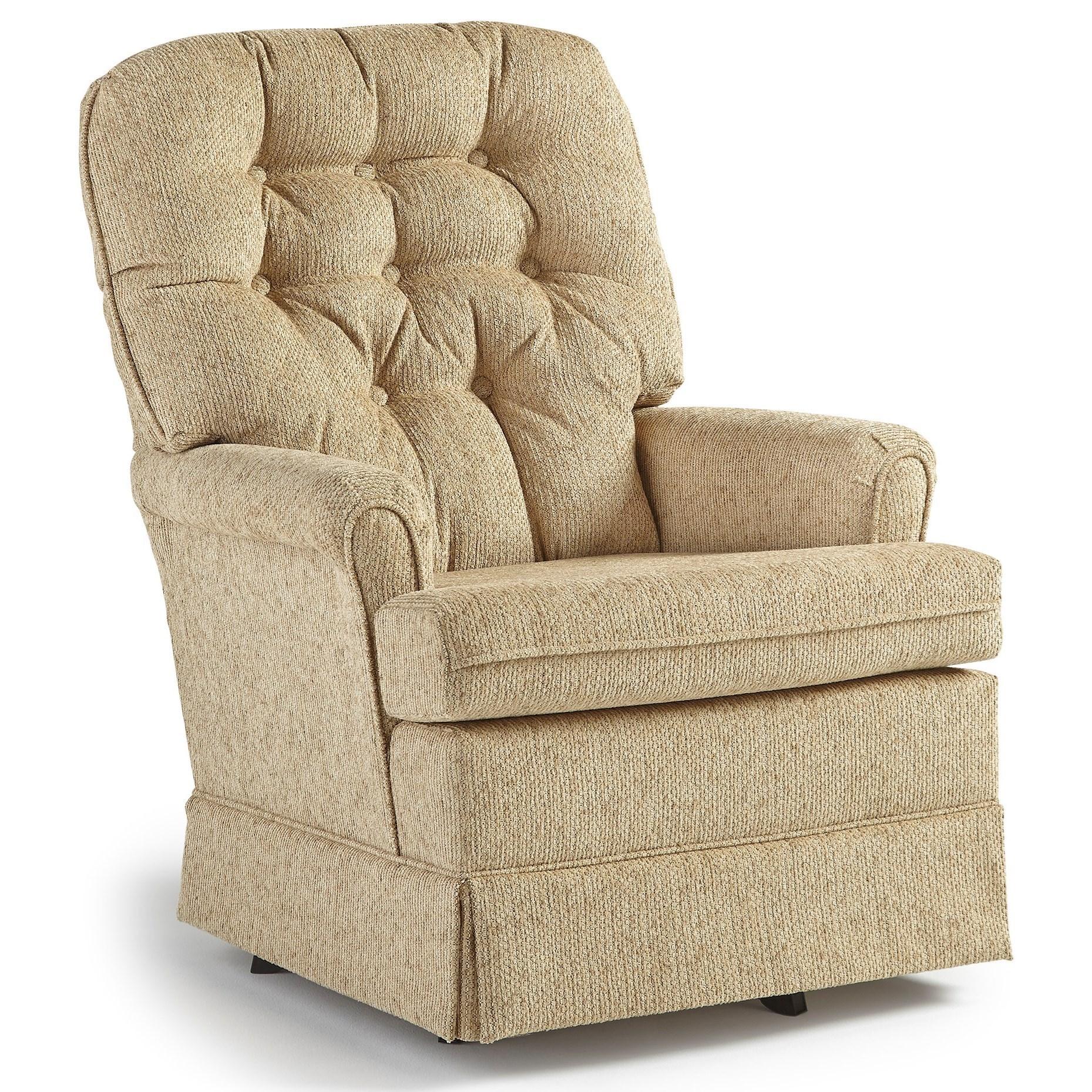 Best Home Furnishings Swivel Glide ChairsJoplin Swivel Rocker Chair