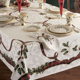 Shop Holiday Nouveau Table Cloth by Lenox - Free Shipping On Orders