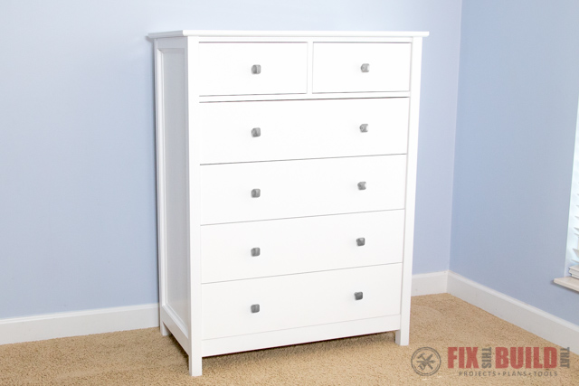 How to Build a DIY Dresser (6 Drawer Tall Dresser) | FixThisBuildThat