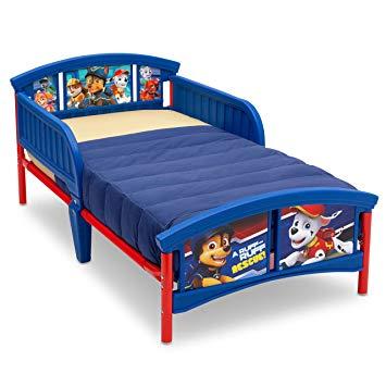 Traveller Location : Delta Children Plastic Toddler Bed, Nick Jr. PAW Patrol : Baby