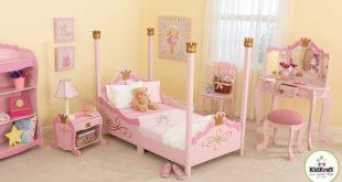 KidKraft Princess Toddler Four Poster Configurable Bedroom Set & Reviews    Wayfair