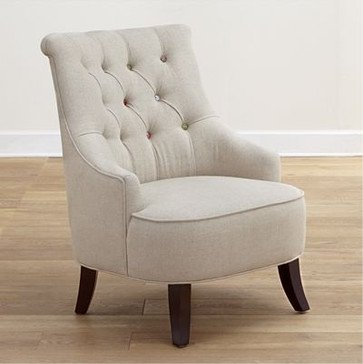 Cute as a button erin chair traditional armchairs