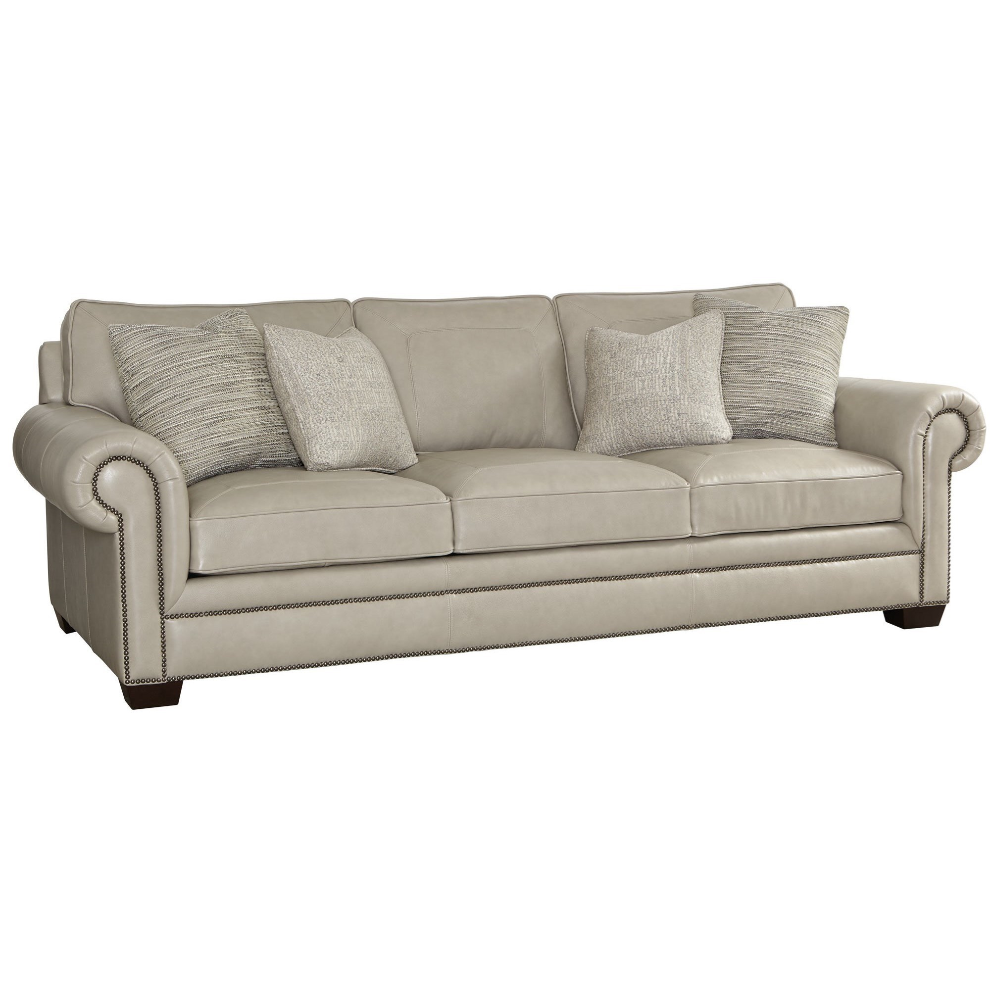 Bernhardt Grandview Traditional Sofa with Nailheads