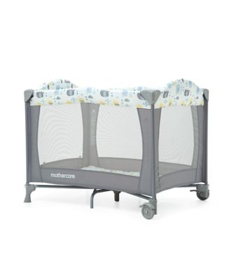 mothercare classic travel cot - elephants
