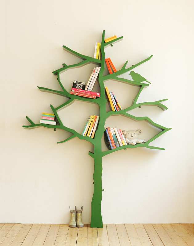 View in gallery tree like bookshelves designartist shawn soh 2 10 Best Tree  like Bookshelves