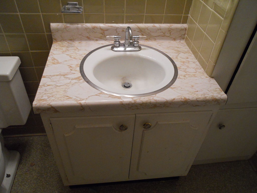 Picture of Removing a Sink and Vanity; Home Improvement