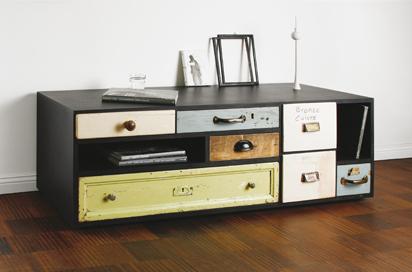 schubLaden-Modern Storage Furniture With Vintage Drawers