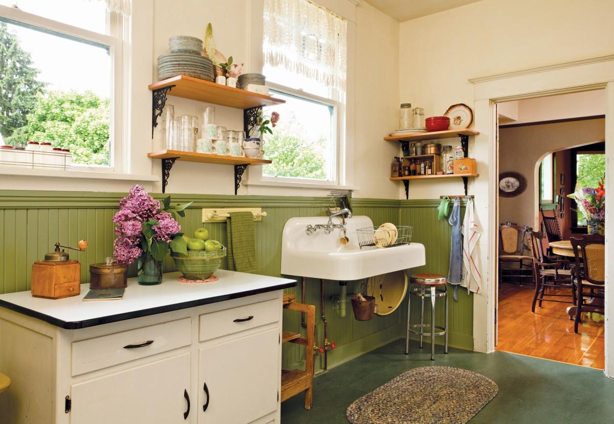 True Vintage Kitchen