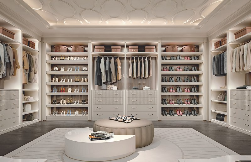 Photo Gallery:Walk-In Closet Design – Ellipse by Francesco Pasi