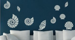Seashell Wall Art Decals. Zoom