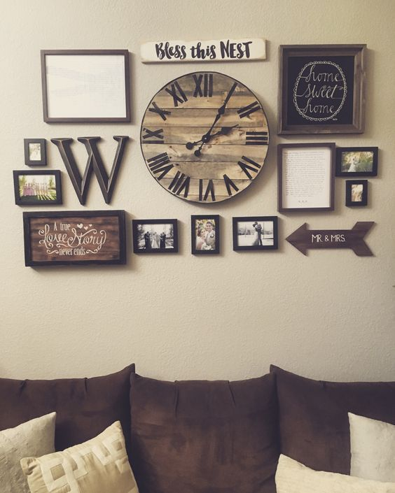 25 Must-Try Rustic Wall Decor Ideas Featuring The Most Amazing Intended  Imperfections | Decor | Home Decor, Living room decor, Rustic wall decor