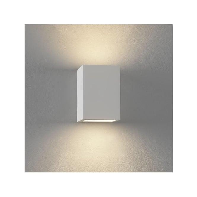 0813 Mosto 1 Light Up/Down Wall Light Plaster