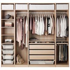 Ikea Bedroom, Bedroom Storage, Bedroom Decor, Bedroom Furniture, Furniture  Design, Pax