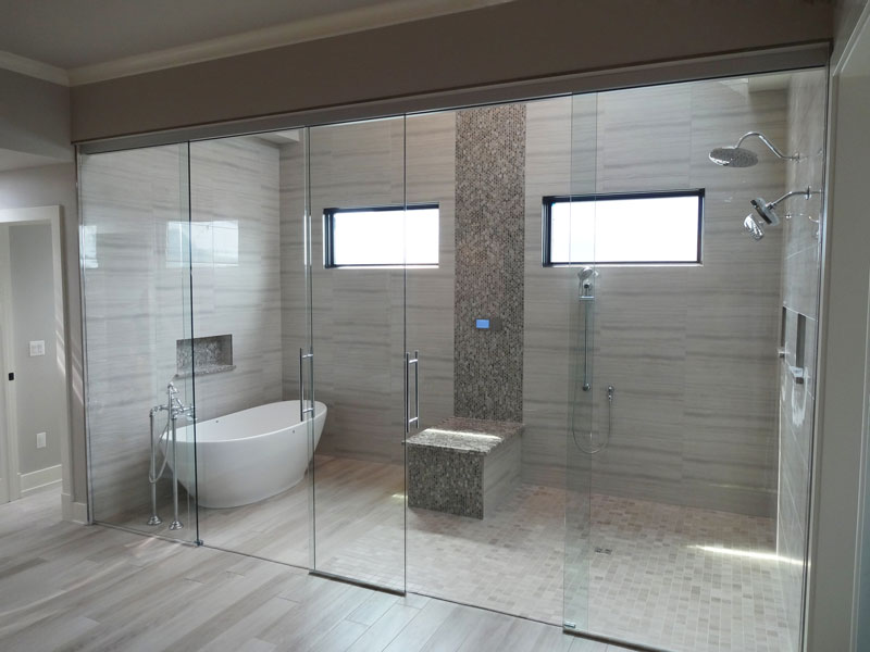 View Larger Image · Chicago Glass Wet Rooms