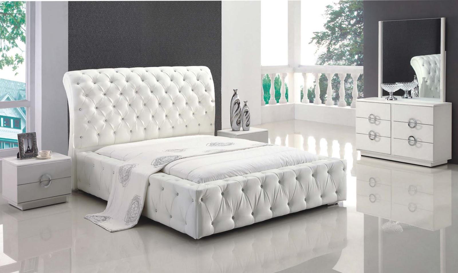 White Painted Bedroom Furniture Platform Bedroom Furniture Sets Modern  Leather Bedroom Sets