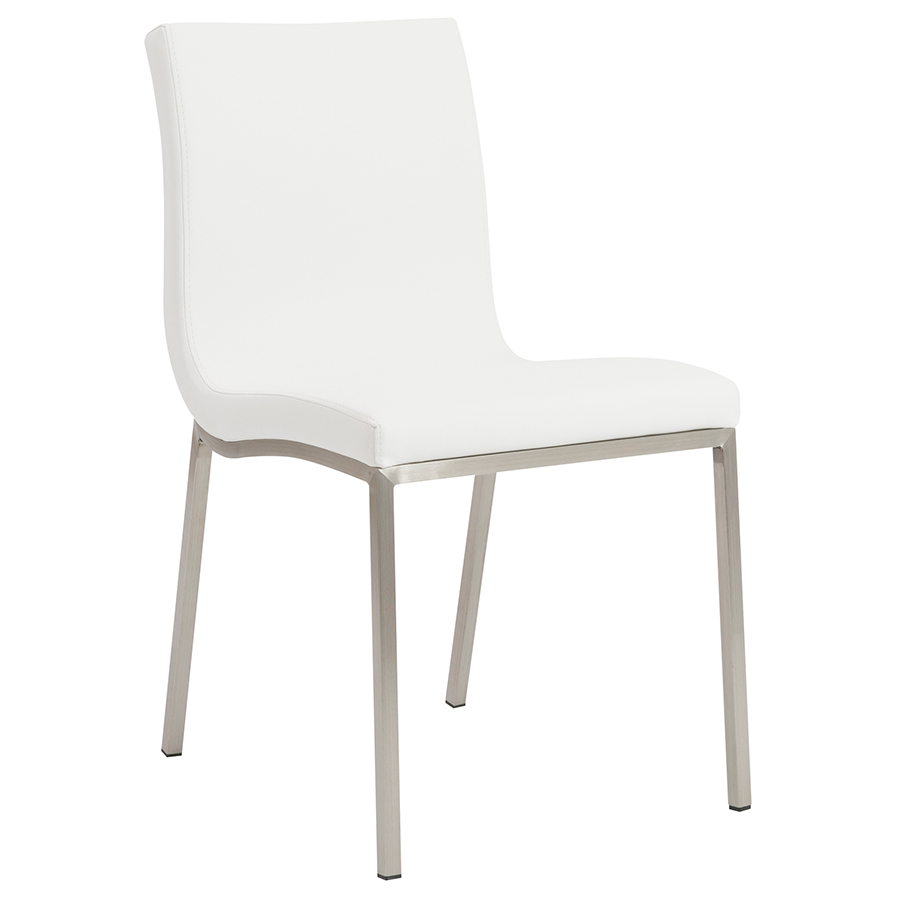 Call to Order · Scott Modern White Dining Chair