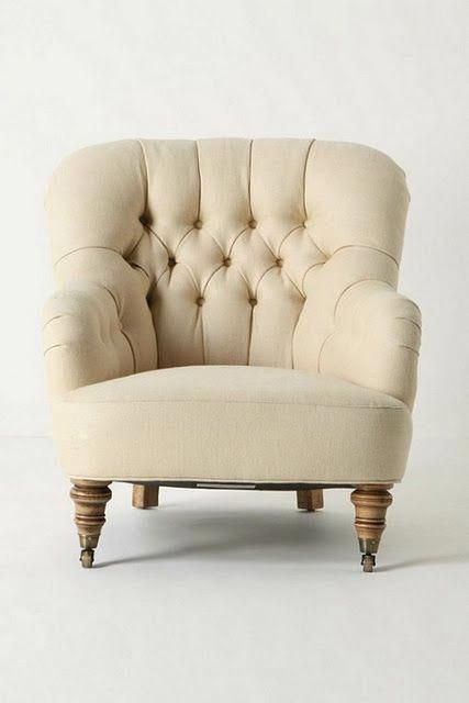 winter white comfy chair #bigcomfychair