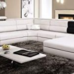 White Leather Sectional Sofas