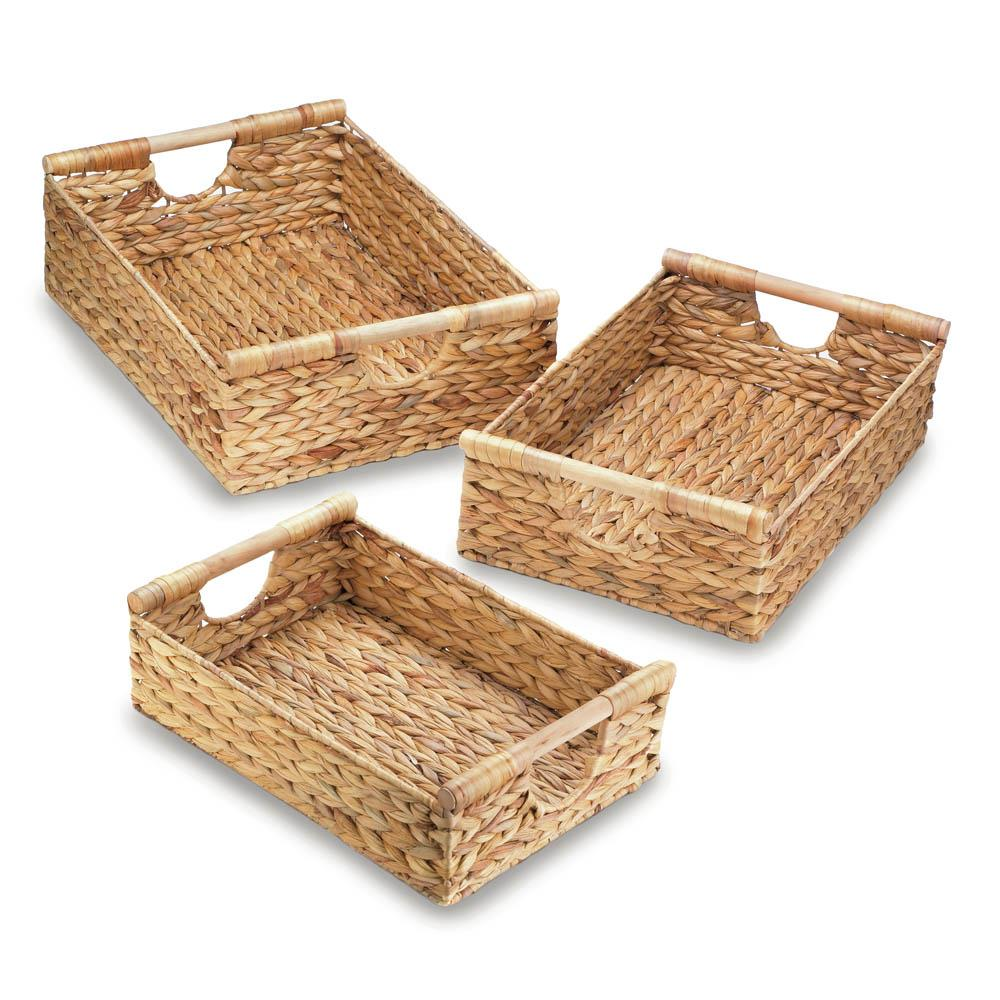 wicker baskets small,woven basket large,wire storage basket with  liner,large woven