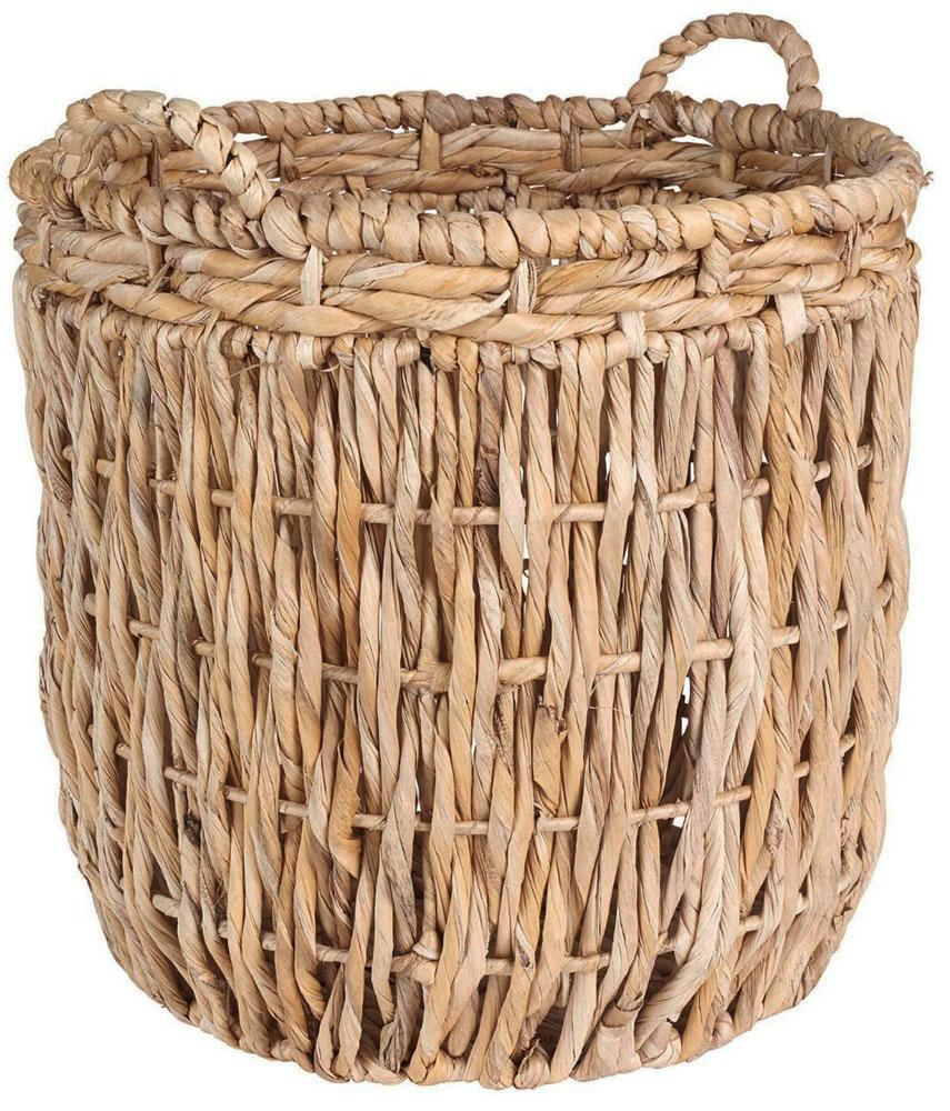 Round Wicker Basket Image