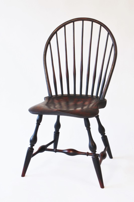 Bow-back Side Chair