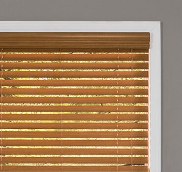 Faux Wood Blinds; Wood Blinds