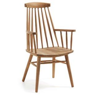 Solid Teak Wood Armchair