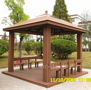 Composite Wood Gazebo, Composite Wood Gazebo Suppliers and Manufacturers at  Traveller Location