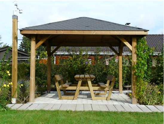 Wooden-Gazebo Image source: monamenagementjardin.fr
