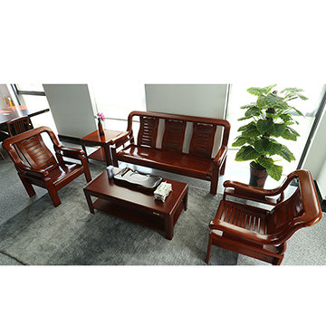 China Furniture China living room sofa with cheap price wooden sofa set