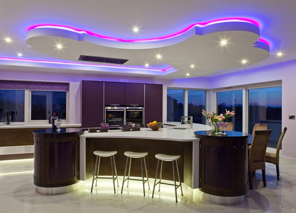 15 attractive led lighting ideas for contemporary homes JLKEABF
