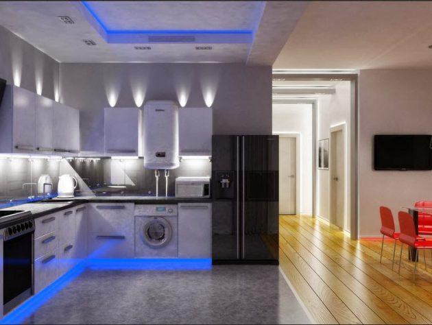 16 awesome kitchen led lighting ideas that will amaze you YSZAFHK