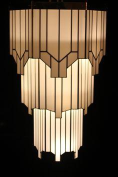 Art Deco Lighting Design Style And