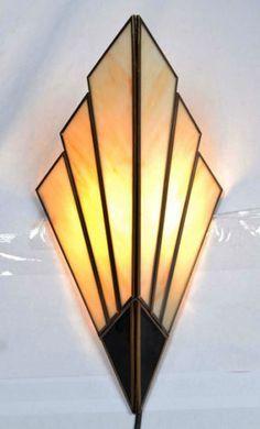 art deco lighting deco sconce lighting - pesquisa google SBLPOZM