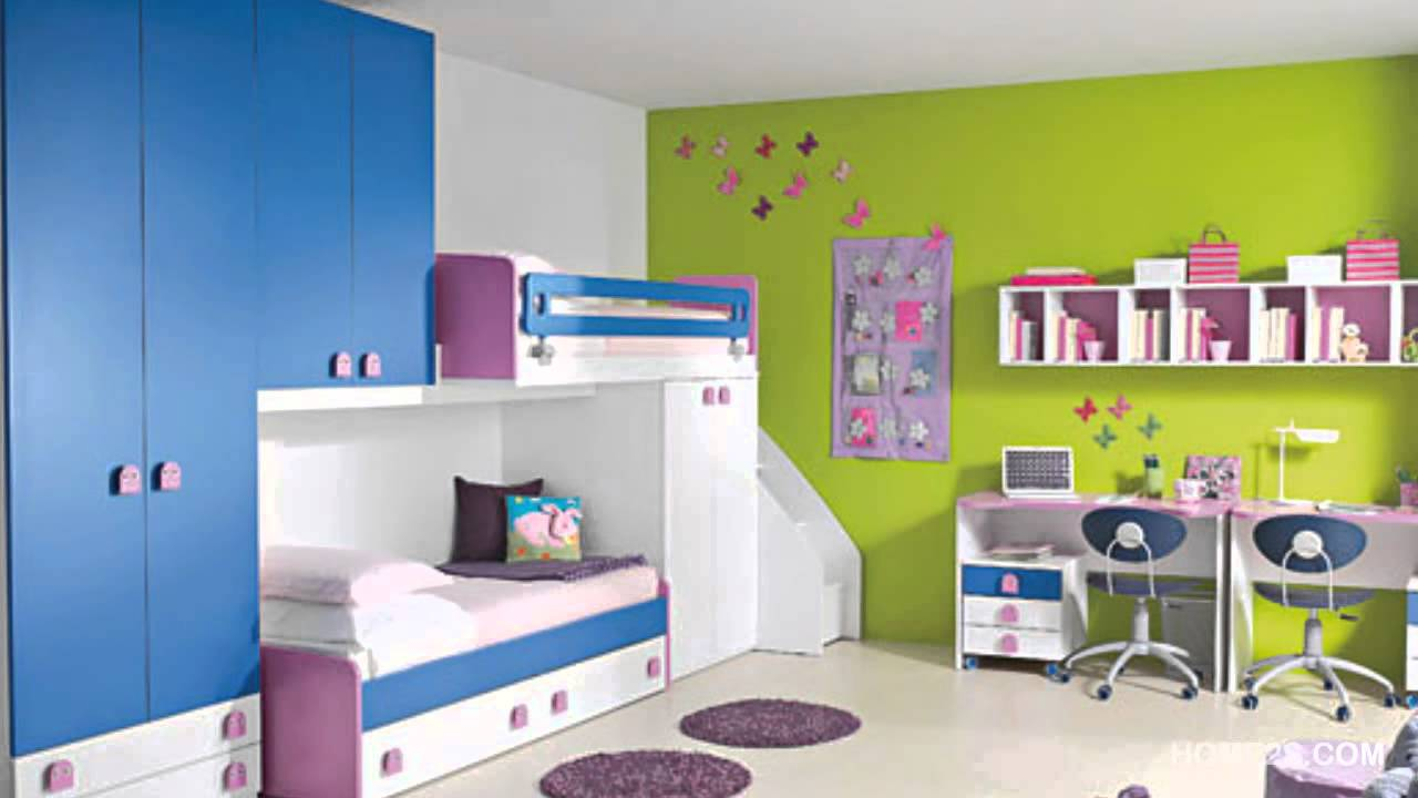 colorful kids room decor ideas 02 - youtube UCNTFDK