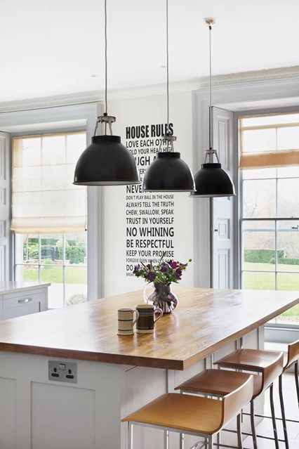 country house lighting country house modern chic - kitchen design ideas u0026 pictures  (houseandgarden.co.uk) TAKSITX