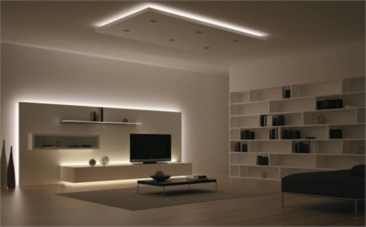 Indirect LED interior lighting indirect-led-lighting-brown-themed-square-ceiling-white-colored-wall-white-wooden-reck-square-black-stained-table-simple-modern-design.jpg  (720×446) VAPVWIH