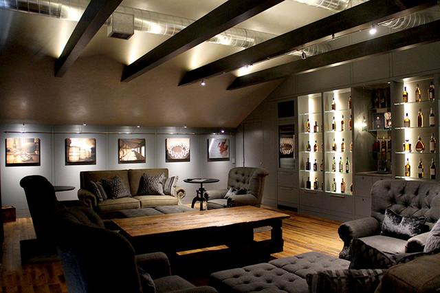 Indirect LED interior lighting indirect led up lighting craftsman-living-room VLHEWXN