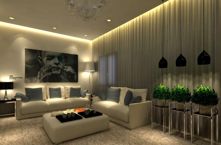 Indirect LED interior lighting led lighting technology making home renovation fun PEHJYGZ