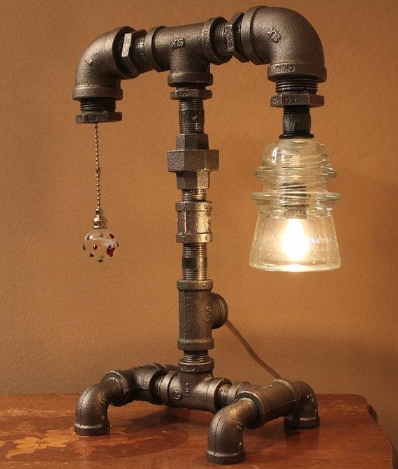 Industrial lamps design
