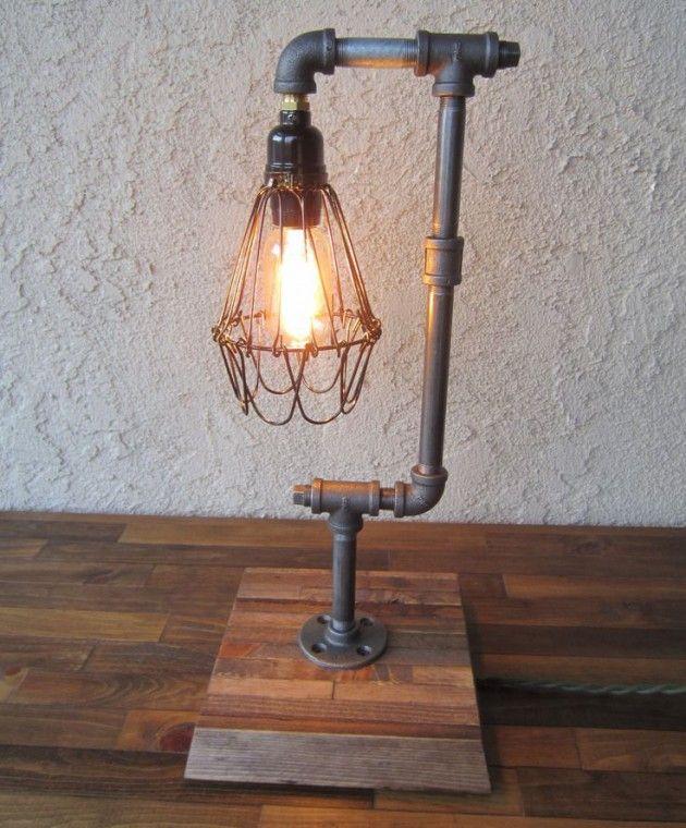 industrial lamps design ad-interesting-industrial-pipe-lamp-design-ideas-03 VCUHZVI