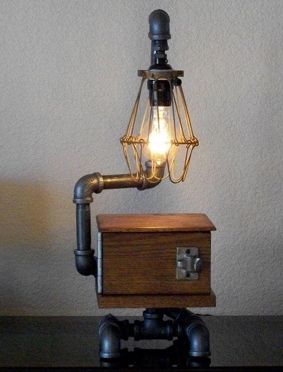industrial lamps design ad-interesting-industrial-pipe-lamp-design-ideas-20- ARMZDJO