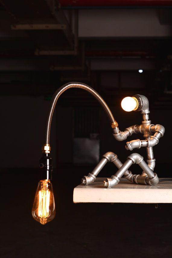 industrial lamps design ebe designer industrial lighting - steampunk lamp table lamp edison vintage  light AZSNFIQ