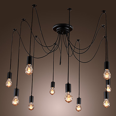industrial lamps design iwhd loft style vintage industrial pendant lighting fixtures with 10 lights  design BBWCIDL