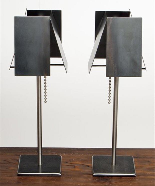 industrial lamps design steel desk lamps by tod von mertens RNQKDWB