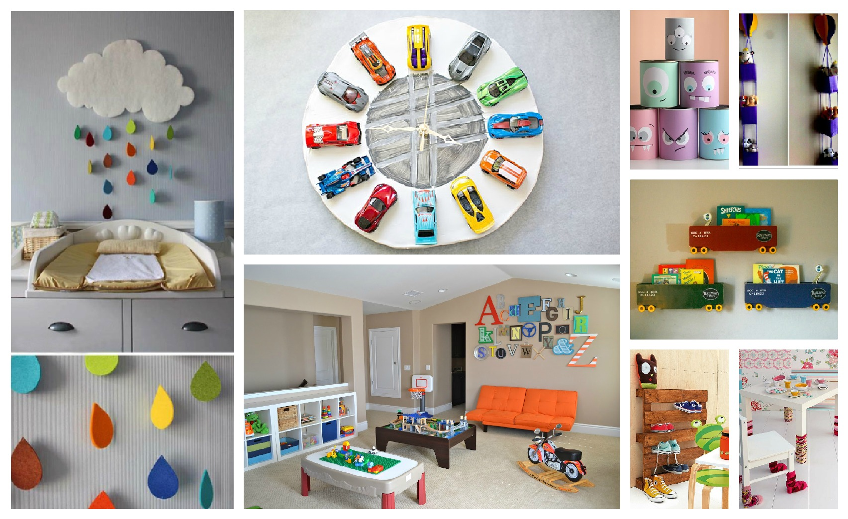 kids room decor ideas cheerful kidsu0027 room decorations that you will fall in love with · diy EUFTRKL